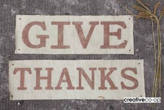 Give thanks creative co-op
