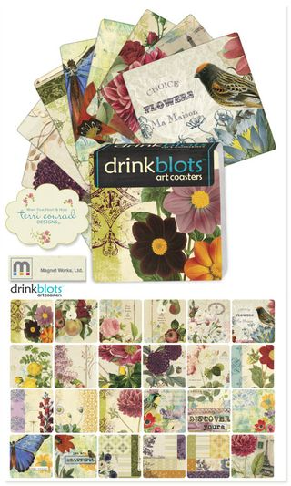 TerriConrad Drink Blots Magnet Works